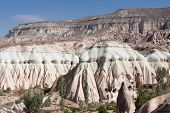 image of goreme  - Close up of rock formation in Goreme Turkey - JPG