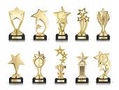 Collection Of Stars Awards