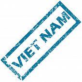 Viet Nam rubber stamp