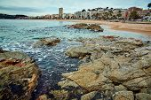 Coast of Lloret de Mar