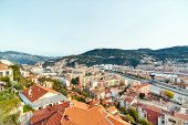 Residential quarters, Nice, France