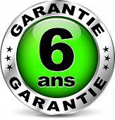 Green Warranty Icon ( French Translation )