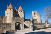 The Medieval Town Of Carcassonne
