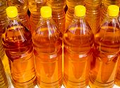Sunflower Oil In Plastic Bottles
