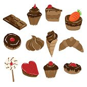 Baked Chocolate Food