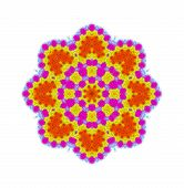 Bright Abstract Color Shape