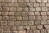 Old Cobbled Street Background