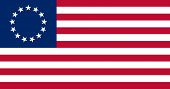 image of betsy ross  - The Besty Ross Flag of the United States of America made to goverment specifications in both color and proportions - JPG