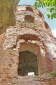 Ruins Of Old Fortress In Medzhibozh, Ukraine