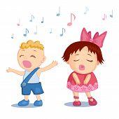 Singing babies