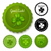 new and retro clover stamps