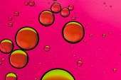 Bright pink abstract background