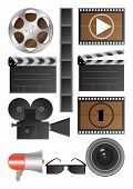 vector cinematography objects
