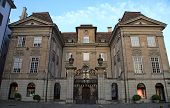 image of zurich  - Beautiful palace in medieval center of Zurich - JPG