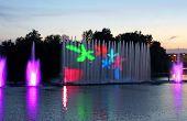 Biggest Fountain On The River Was Opened In Vinnytsia, Ukraine