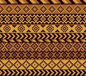 African Pixel Pattern