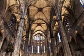 Cathedral of the Holy Cross and Saint Eulalia.Barcelona, Spain.