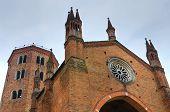 Church of St. Antonino. Piacenza. Emilia-Romagna. Italy.
