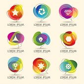 Colorful Design Element and Icon