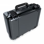 3D Black Metallic  Hard Case