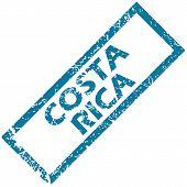 Costa Rica rubber stamp