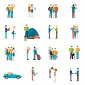 Friends Icons Set