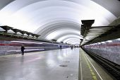 Underground Metro Station, Subway Saint Petersburg