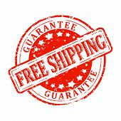 Damaged Stamp Red - Free Shipping - Guarantee