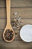 Peppercorn And Sea Salt
