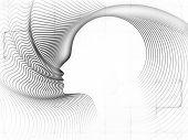 foto of human soul  - Geometry of Soul series - JPG