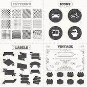 image of ship  - Seamless patterns - JPG