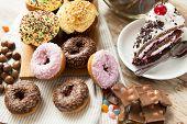 picture of junk  - junk food - JPG