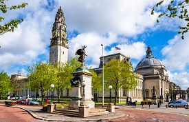 picture of edwardian  - View of City Hall of Cardiff  - JPG