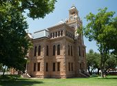 Historic Texas courthouse