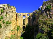 Roman Bridge In Ronda, Spain