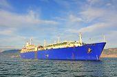 Gas Tanker Ship, Lng