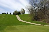 Steep Hill Cart Path