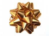 Decoration Gold Bow