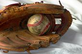 Gloveand Old Ball