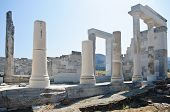 Ruins And Columns In Greece