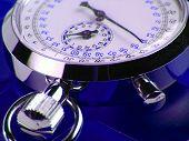 Stopwatch Blue
