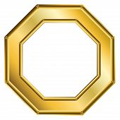 Frame Gold - Octagon 1