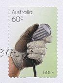 Golf, Sport Stamps