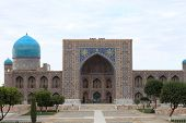 Tilya-kori Madrasah In Samarkand