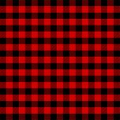 Lumberjack Plaid. Scottish Pattern In Red And Black Cage. Scottish Cage. Scottish Checkered Backgrou poster