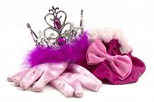 foto of beauty pageant  - Pink princess accessories - JPG