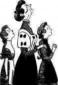 Preceptors and and her schoolgirls
