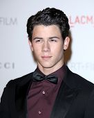 LOS ANGELES - NOV 5:  Nick Jonas arrives at the LACMA Art + Film Gala at LA County Museum of Art on