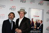 LOS ANGELES - NOV 5:  Christoph Waltz; John C. Reilly. arrives at the AFI FEST 2011 Gala Screening of
