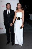 LOS ANGELES - NOV 5:  Len Wiseman, Kate Beckinsale arrives at the LACMA Art + Film Gala at LA County